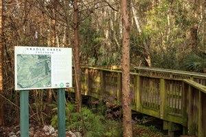 Cradle Creek Entrance